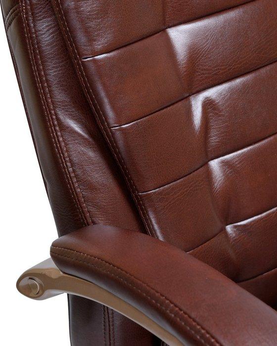 Офисное кресло для руководителей Donald коричневого цвета