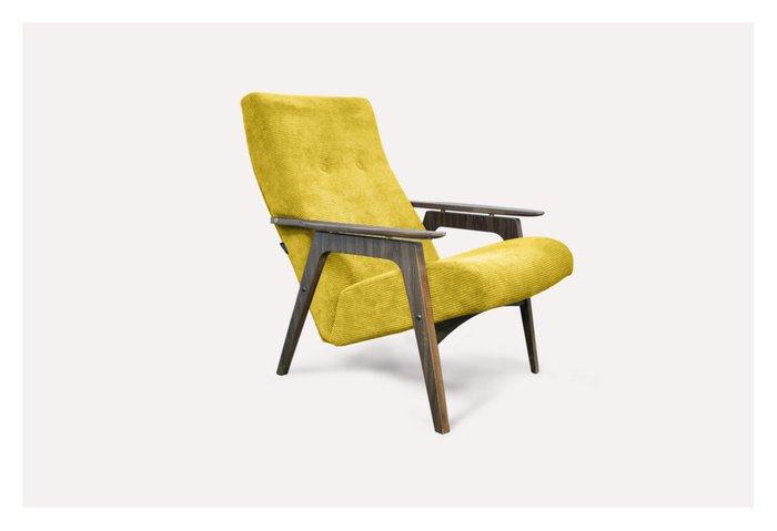 Кресло Каллисто горчичного цвета