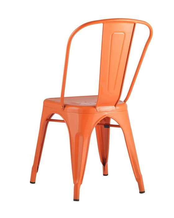 Стул Tolix оранжевого цвета