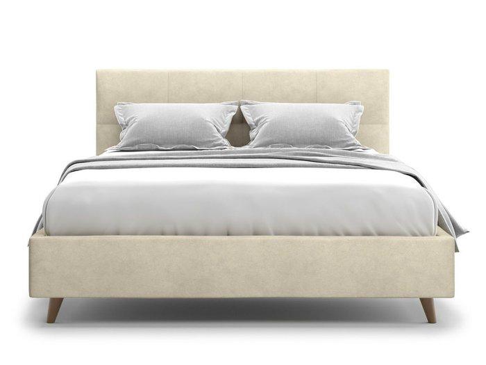 Кровать Garda 140х200 бежевого цвета