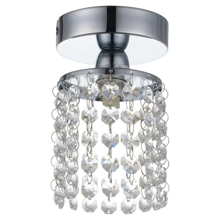 Потолочный светильник Monteleto с хрустальными подвесками