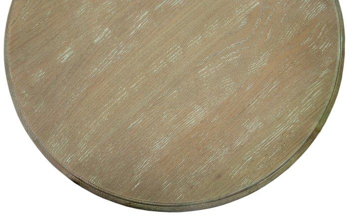 Круглый журнальный столик Regen из массива дуба