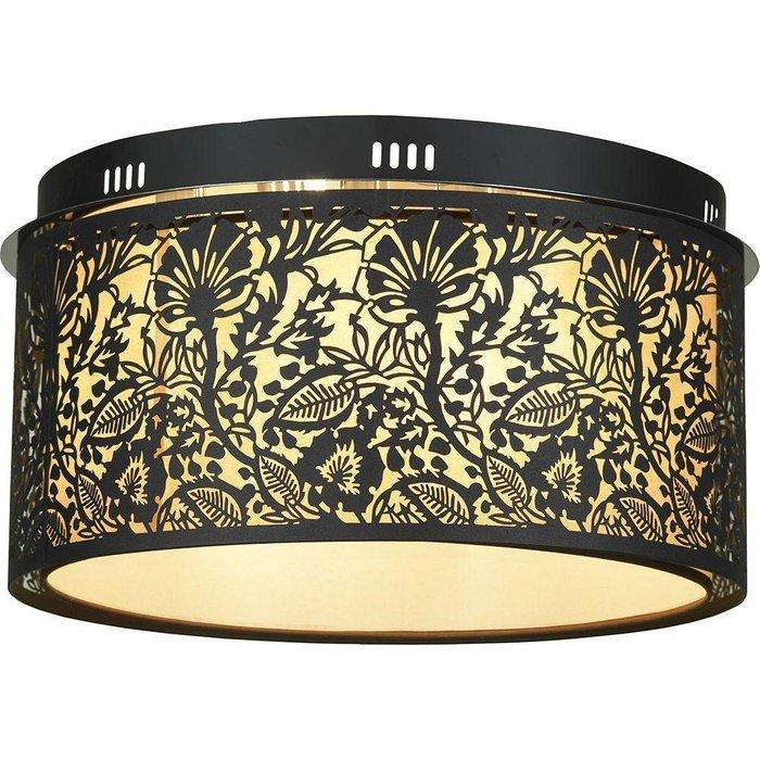 Потолочный светильник Vetere коричневого цвета