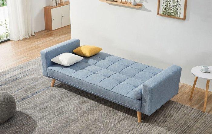 Диван-кровать Scandinavia голубого цвета