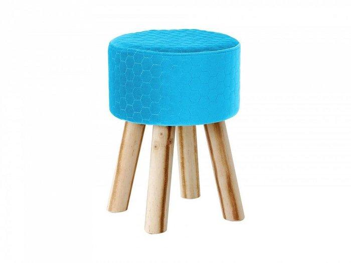Пуф Praim синего цвета