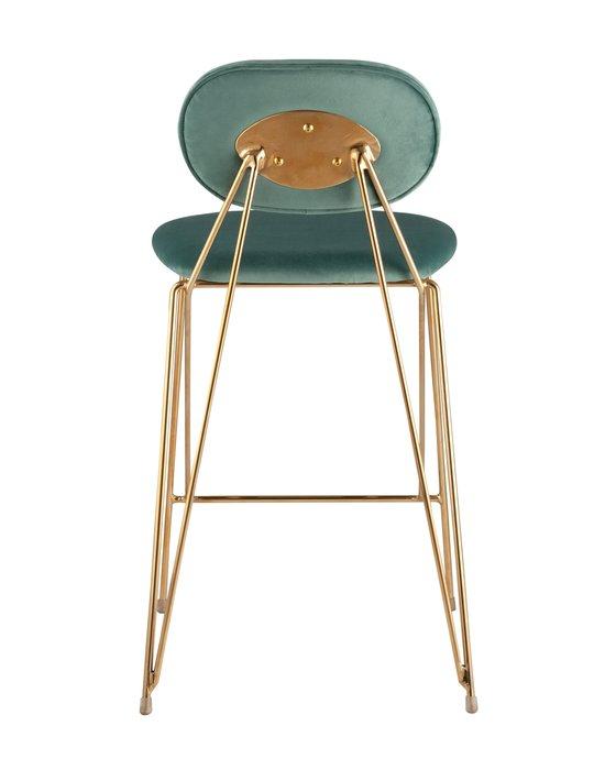 Полубарный стул Элис мятного цвета