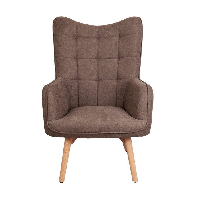 Кресло Bogema бежевого цвета