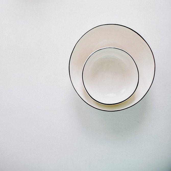 Табурет лесенка Metalframe в белом цвете