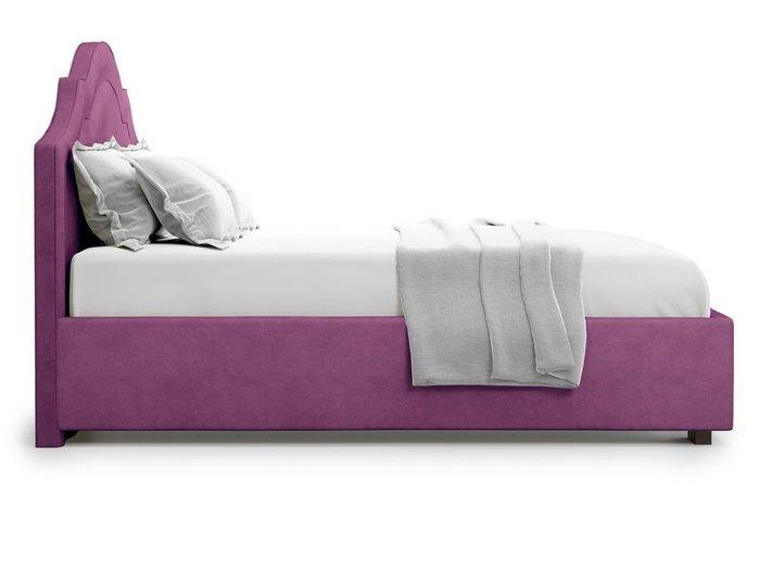 Кровать с подъемным механизмом Madzore 140х200 фиолетового цвета