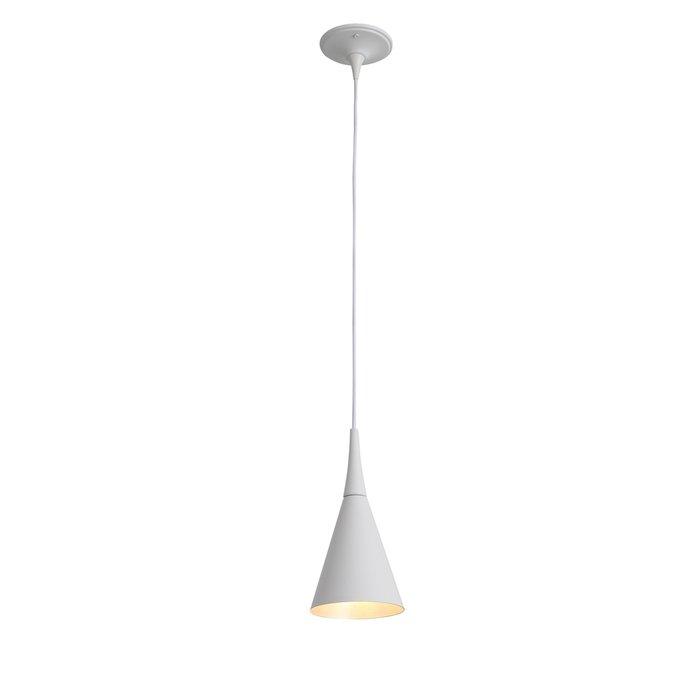 Подвесной светильник Gocce белого цвета