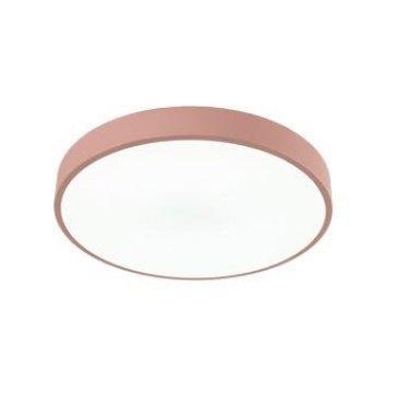 Потолочный светильник розового цвета