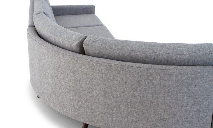 Модульный угловой диван в скандинавском стиле