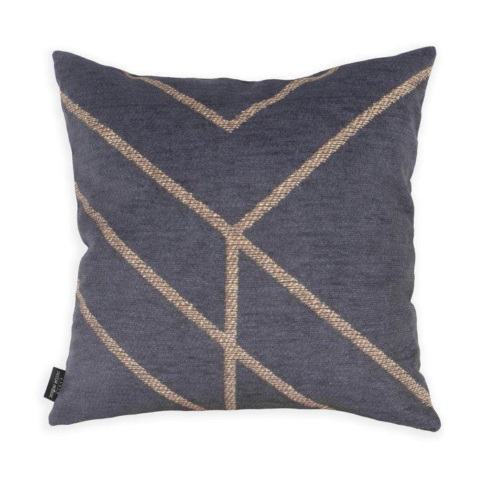 Декоративная подушка Matrix темно-серого цвета 45х45
