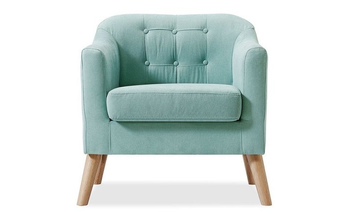 Кресло Jazz бирюзового цвета