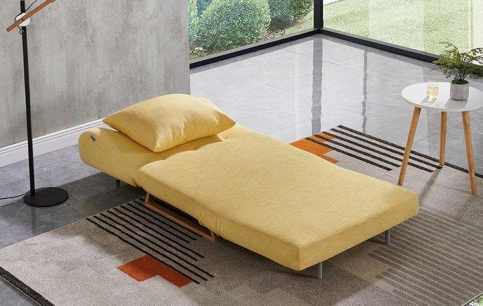 Кресло-кровать Rosy желтого цвета