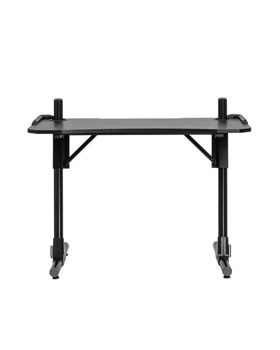 Стол компьютерный игровой Top Chairs Storm LED черного цвета