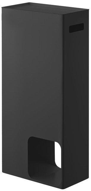 Тумба для ванной Tower черного цвета