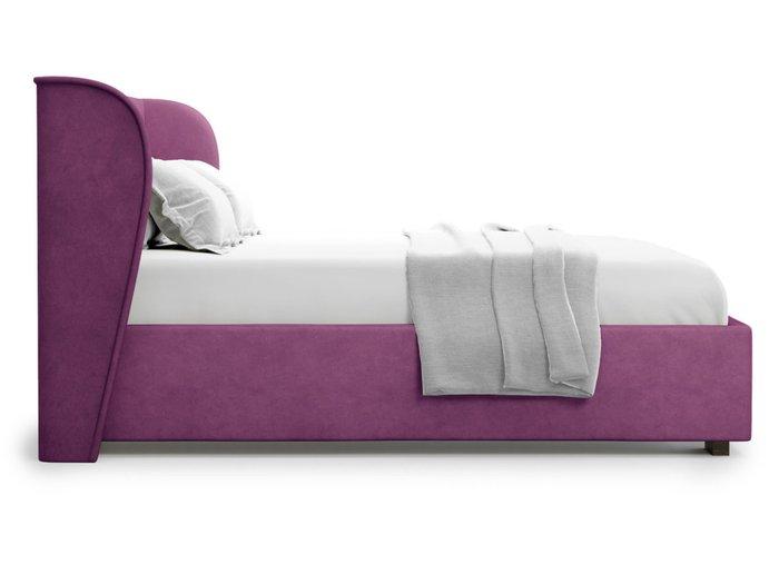 Кровать Tenno 180х200 пурпурного цвета с подъемным механизмом