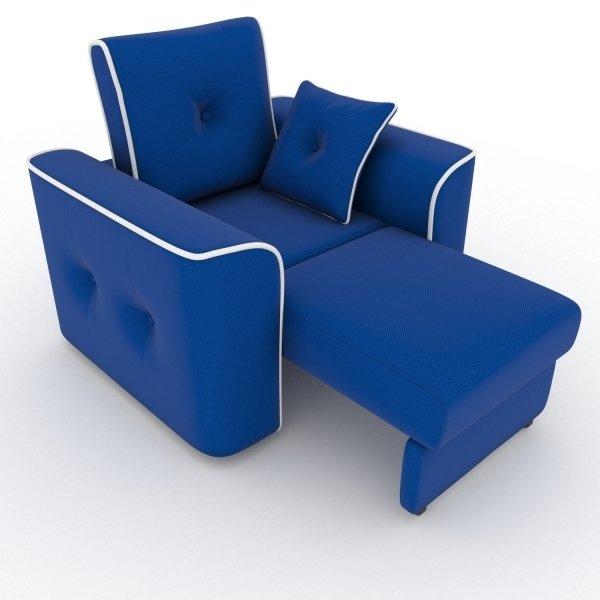Кресло-кровать Navrik синего цвета