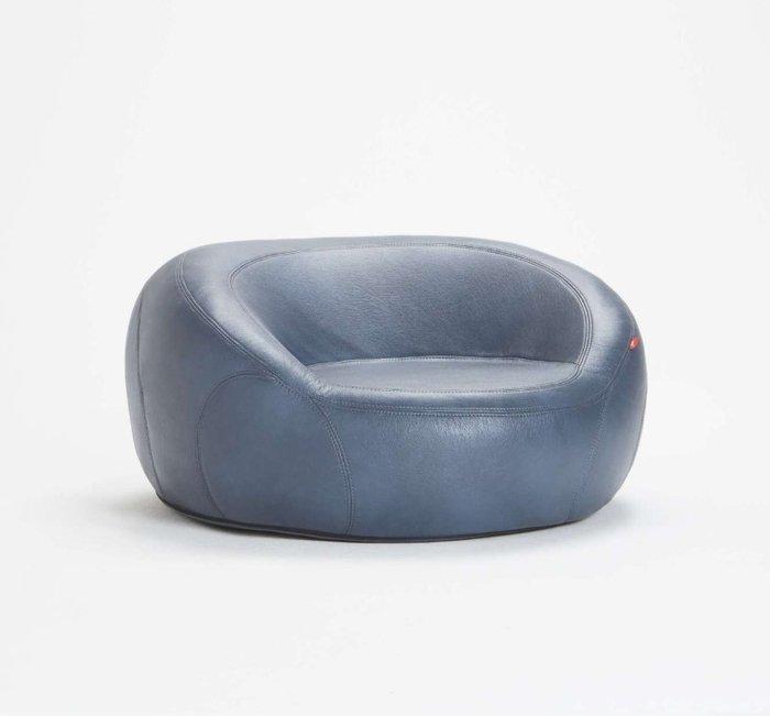 Бескаркасное кресло Jamni Chair из экокожи