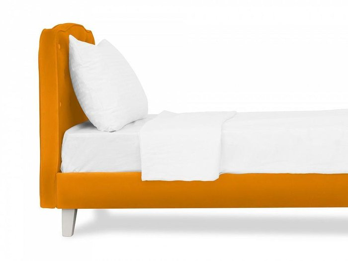 Кровать Candy 80х160 горчичного цвета