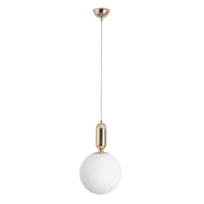 Подвесной светильник Bolla с белым плафоном