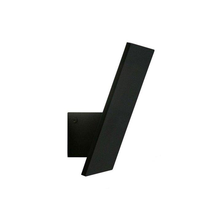 Светодиодное бра Декарт черного цвета