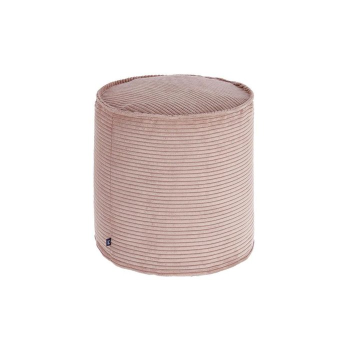 Пуф Zizi fabric pink розового цвета