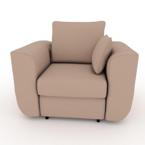 Кресло-кровать Stamford темно-бежевого цвета