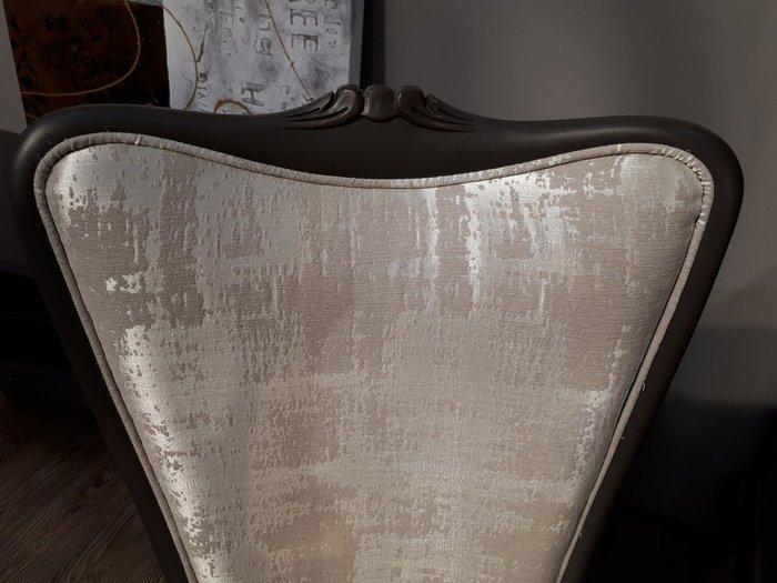 Стул с подлокотниками Valpolicella в обивке из ткани бежевого цвета