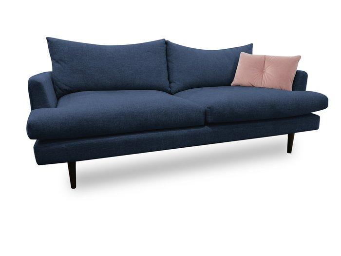 Диван-кровать Энди синего цвета