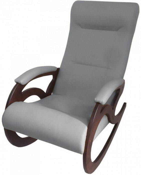 Кресло-качалка Венера серого цвета