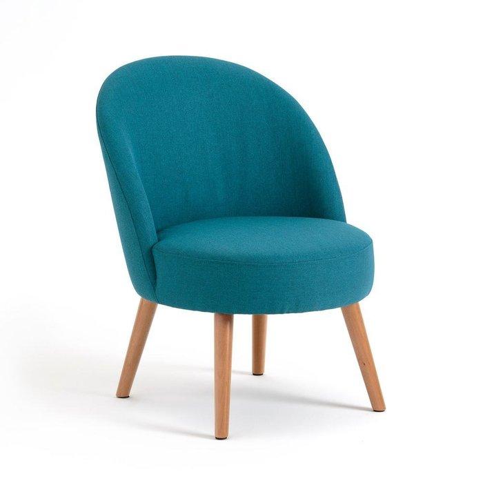 Компактное кресло Quilda сине-зеленого цвета