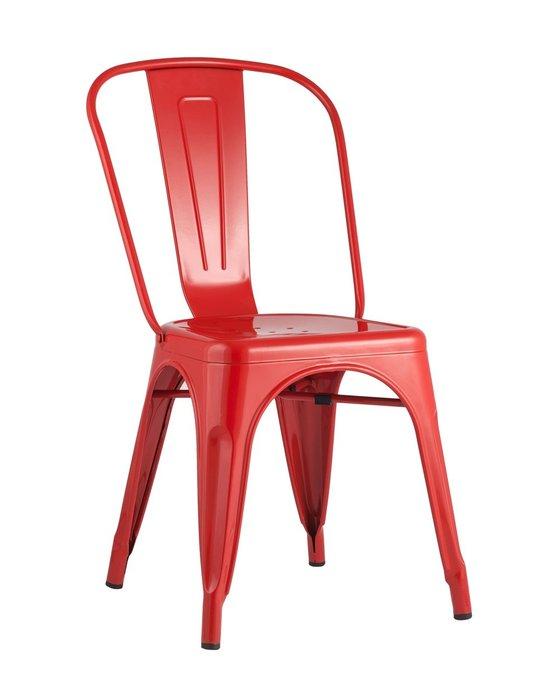 Стул Tolix красного цвета