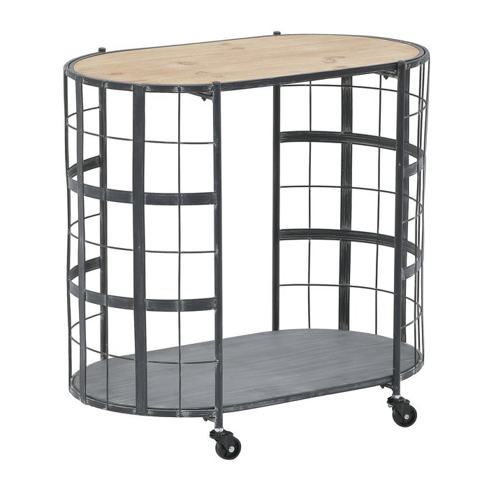 Сервировочный стол на колесах
