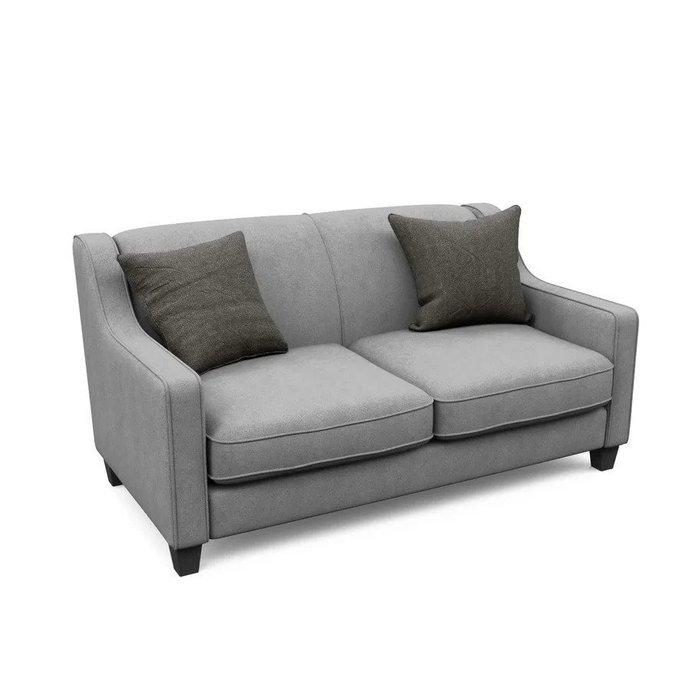 Двухместный диван-кровать Агата M серого цвета