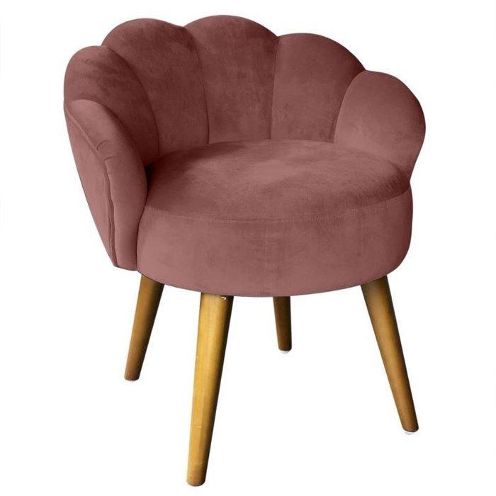 Кресло бордового цвета