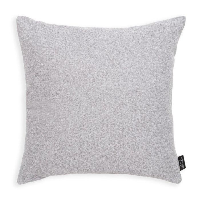 Декоративная подушка Bjork Ash светло-серого цвета