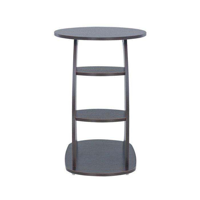 Приставной столик Стелс цвета венге