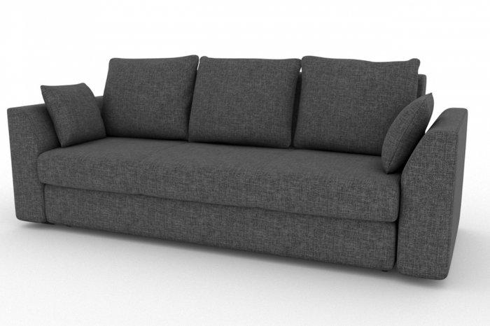 Прямой диван-кровать Belfest серого цвета