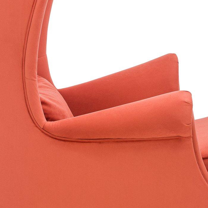 Кресло Винтаж оранжевого цвета