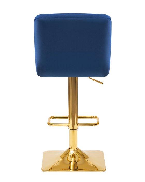Стул барный Goldie синего цвета