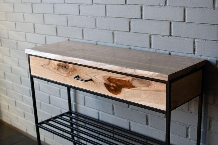 Консольный стол Hall Oak с выдвижным ящиком