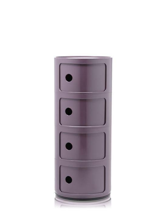Комод Componibili фиолетового цвета