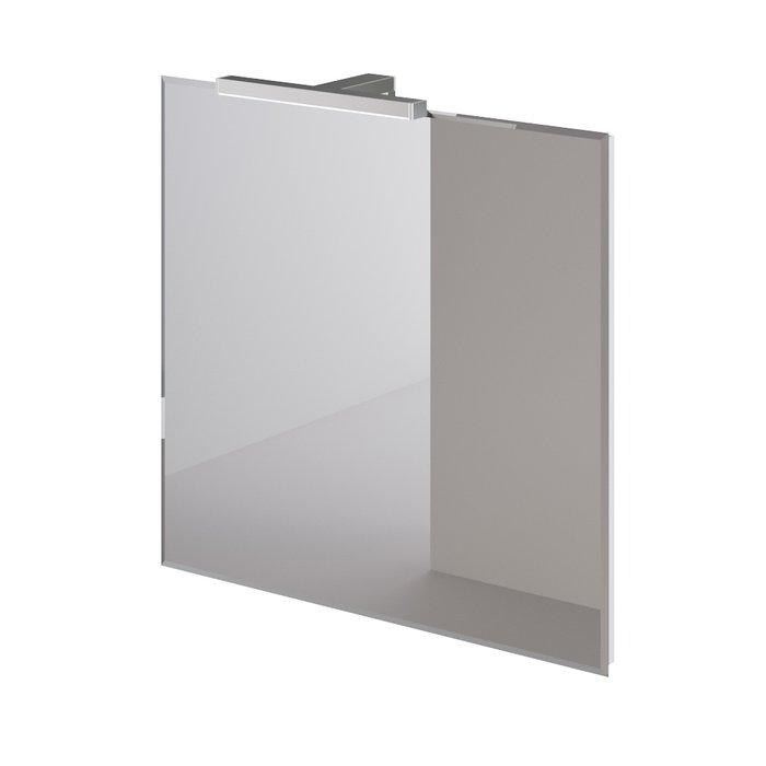 Настенное зеркало White 70х75 с подсветкой