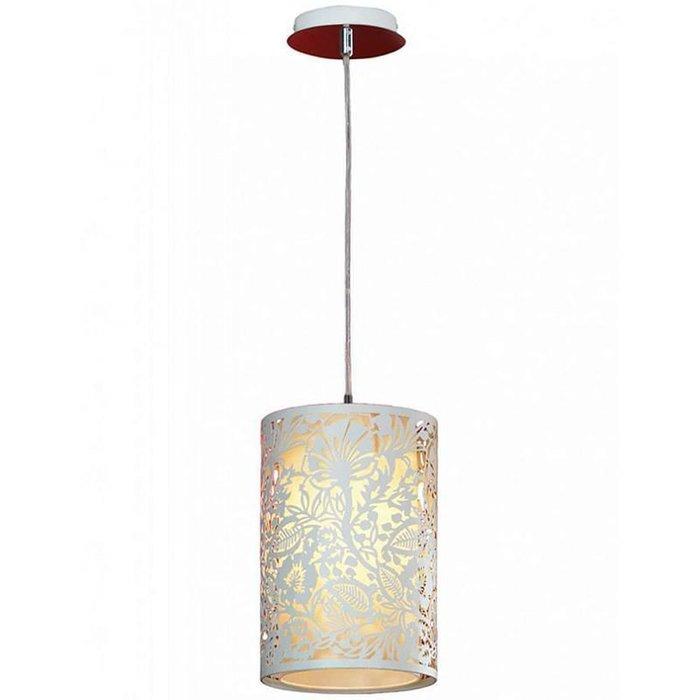 Подвесной светильник Vetere белого цвета