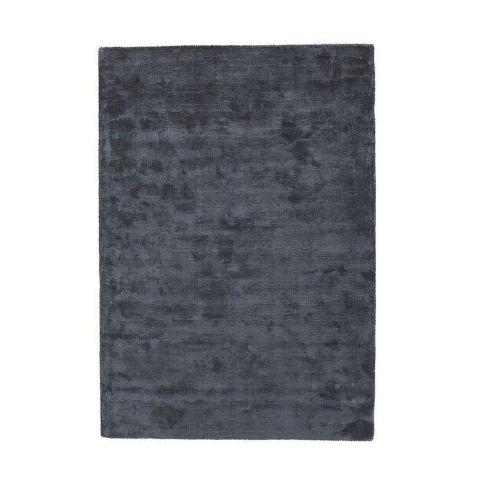 Ковер Guitou из вискозы серого цвета 120x170