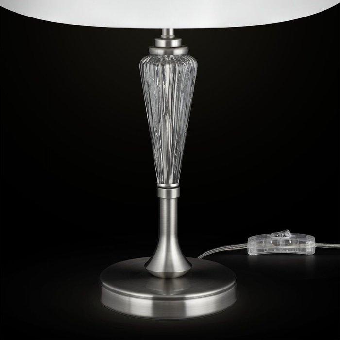 Настольная лампа Alicante с белым абажуром