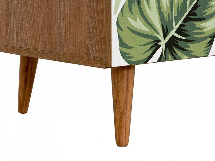Тумба Frida с двумя выдвижными ящиками на деревянных ножках