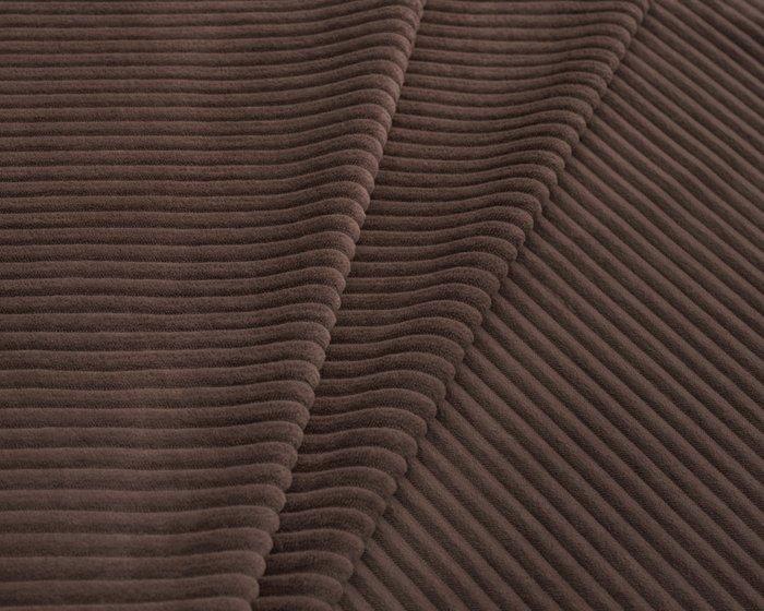 Покрывало Duo Cilium Chocolate 230x240 темно-коричневого цвета